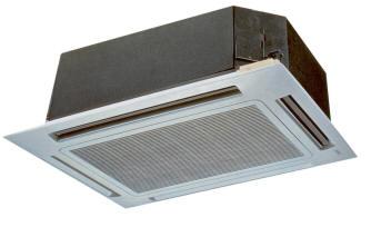 installation de cassette climatisation